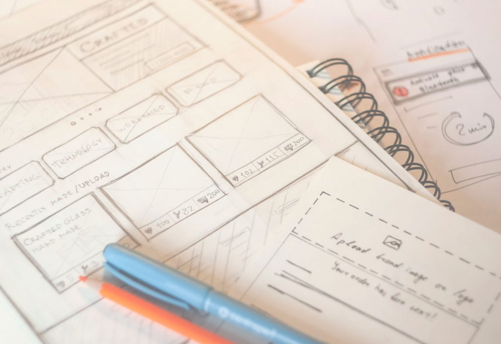 tubik studio wireframing UI UX