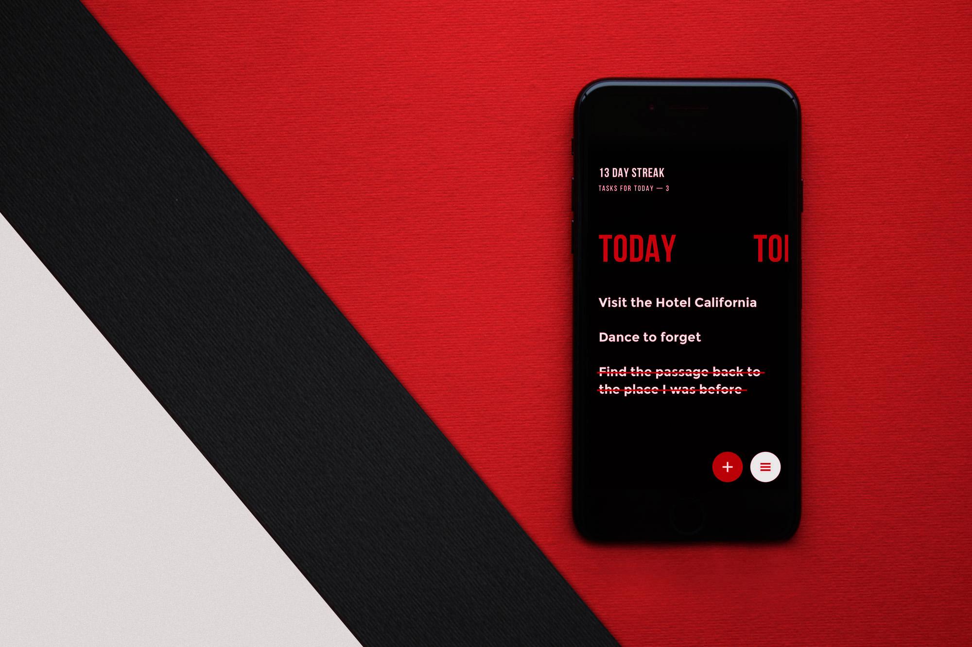 upper app UI design case study