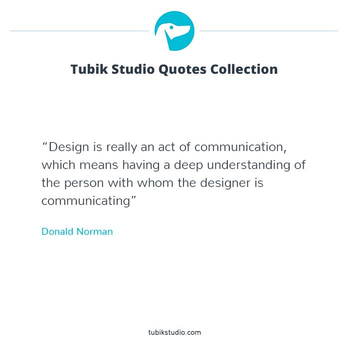 tubik quotes about design