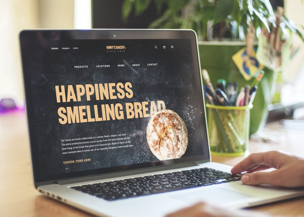 tubikstudio case study bakery website