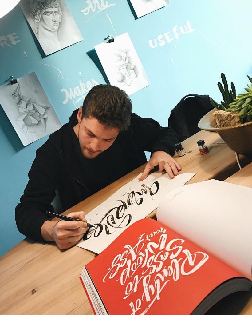 lettering designer