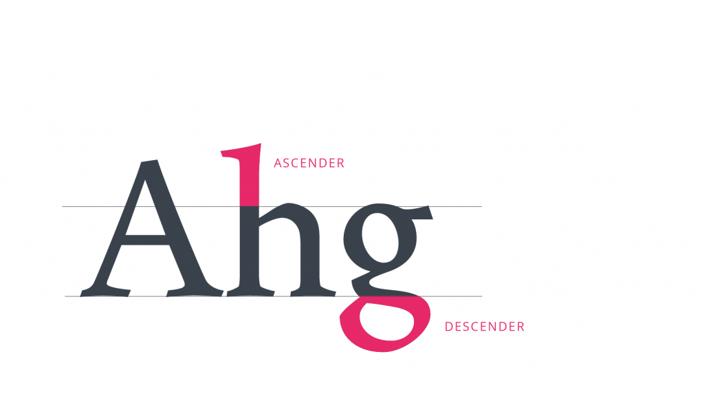 tubik typography ascender