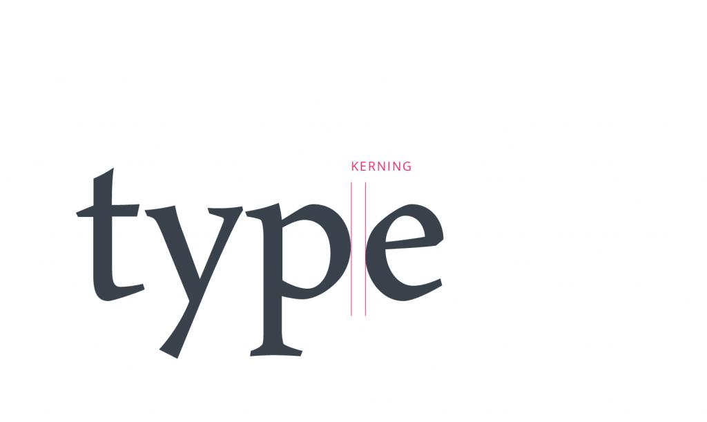 tubik typography kerning