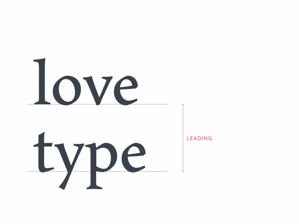 tubik typography leading