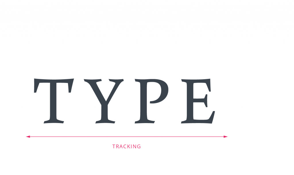 tubik typography tracking