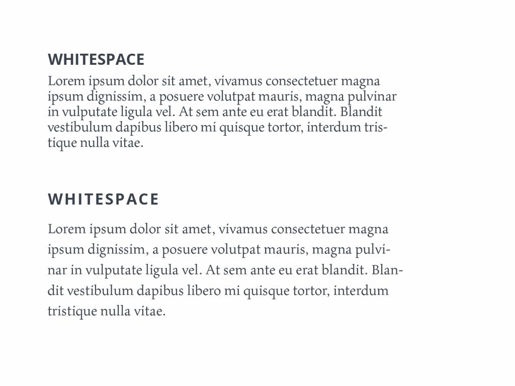 tubik typography whitespace