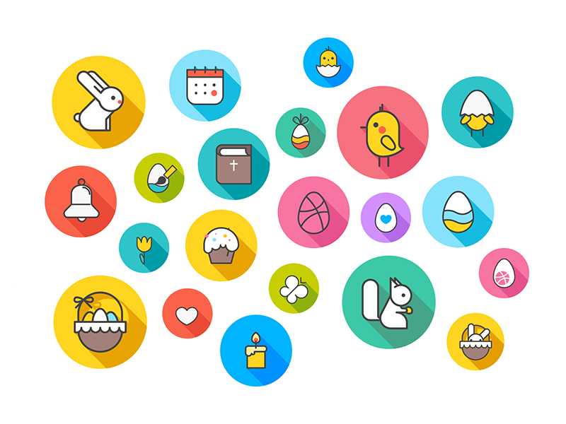 easter icons tubik studio
