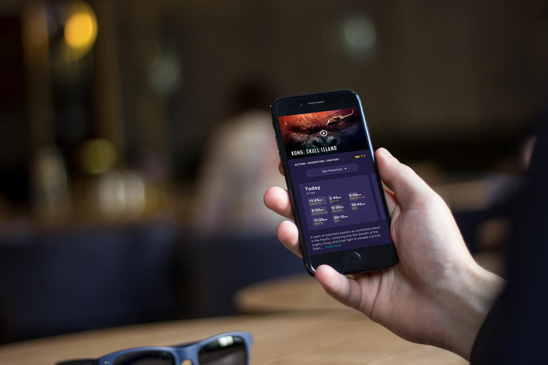 design cinema app UI tubik