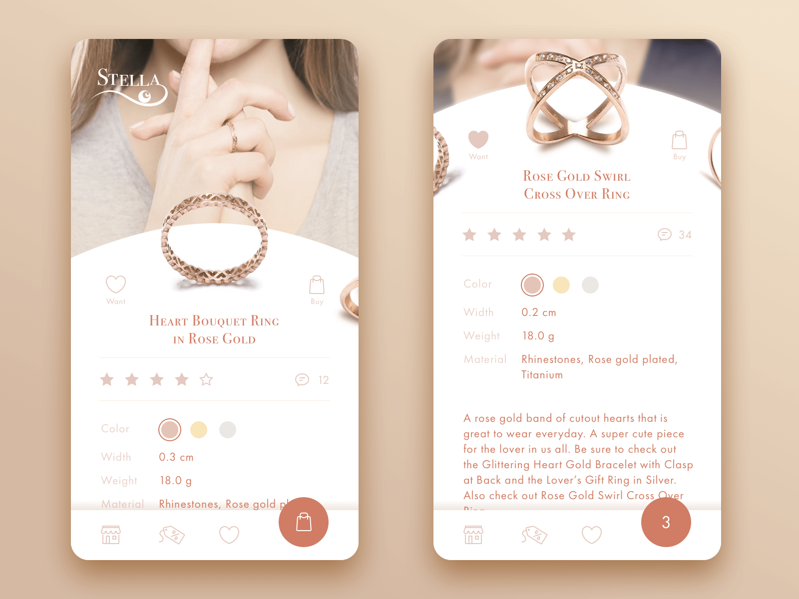 jewellery ecommerce app_concept_tubik