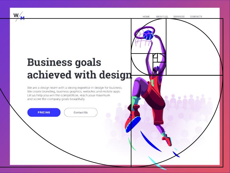 golden ratio in web design