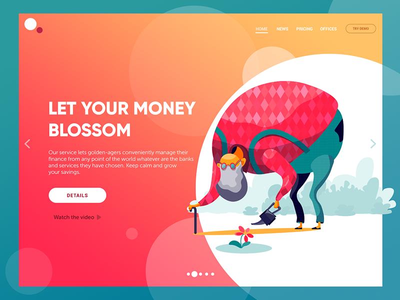 web design ui concept tubik