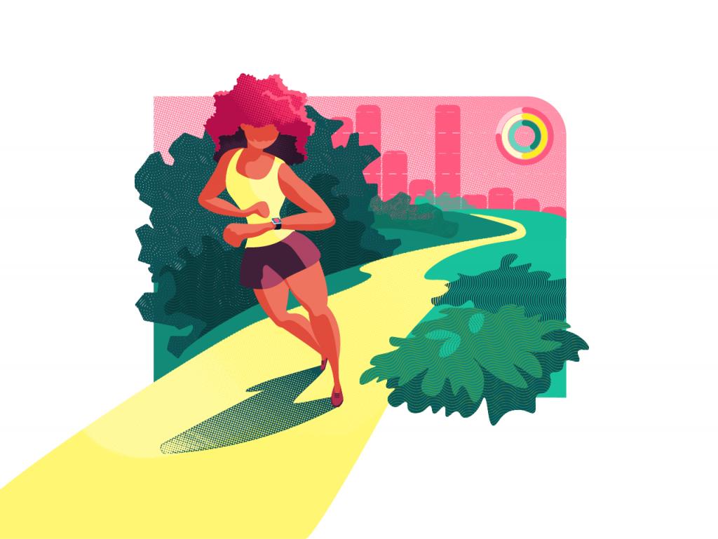 tubik studio sport fitness app design