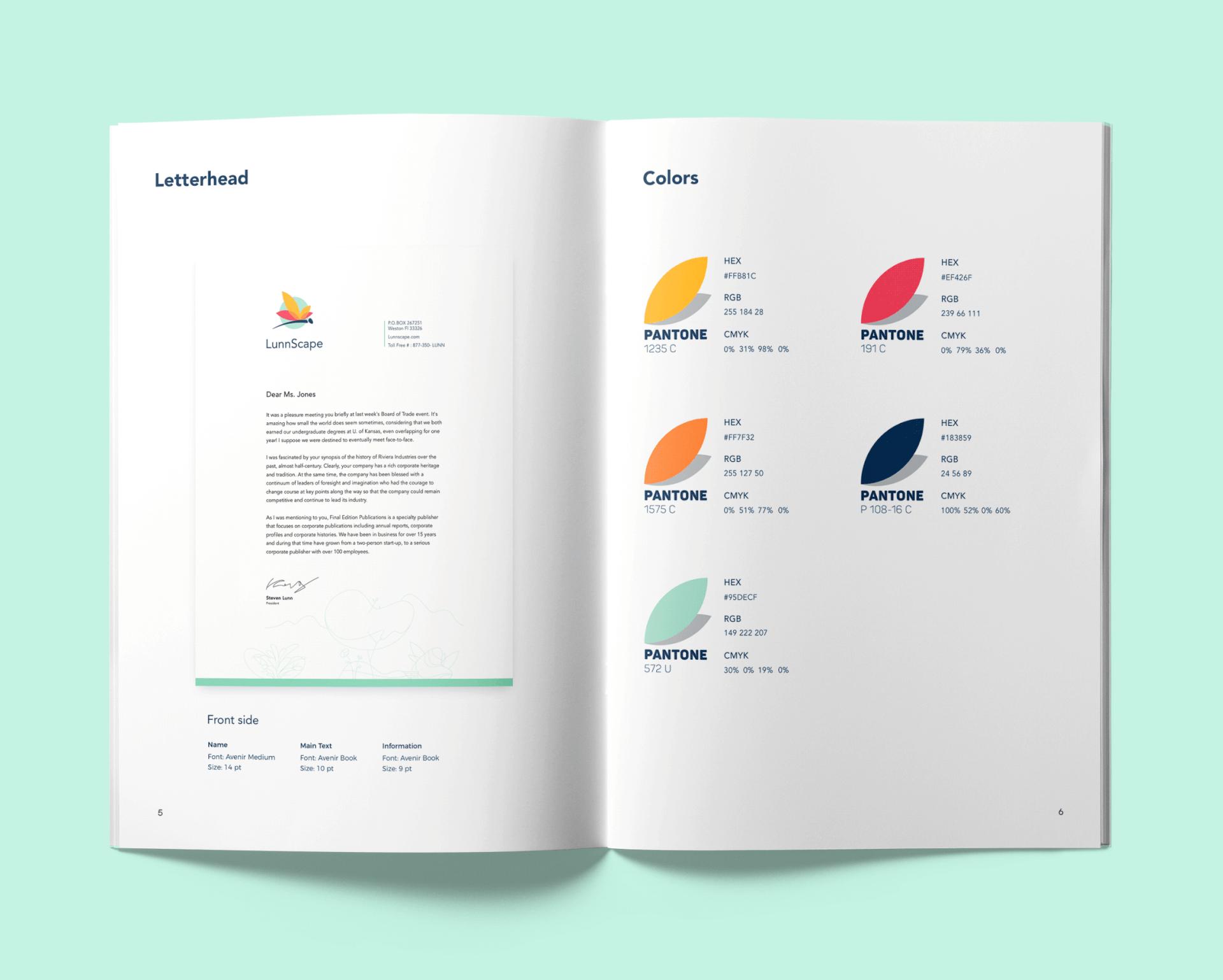 lunnscape_identity_design_styleguide