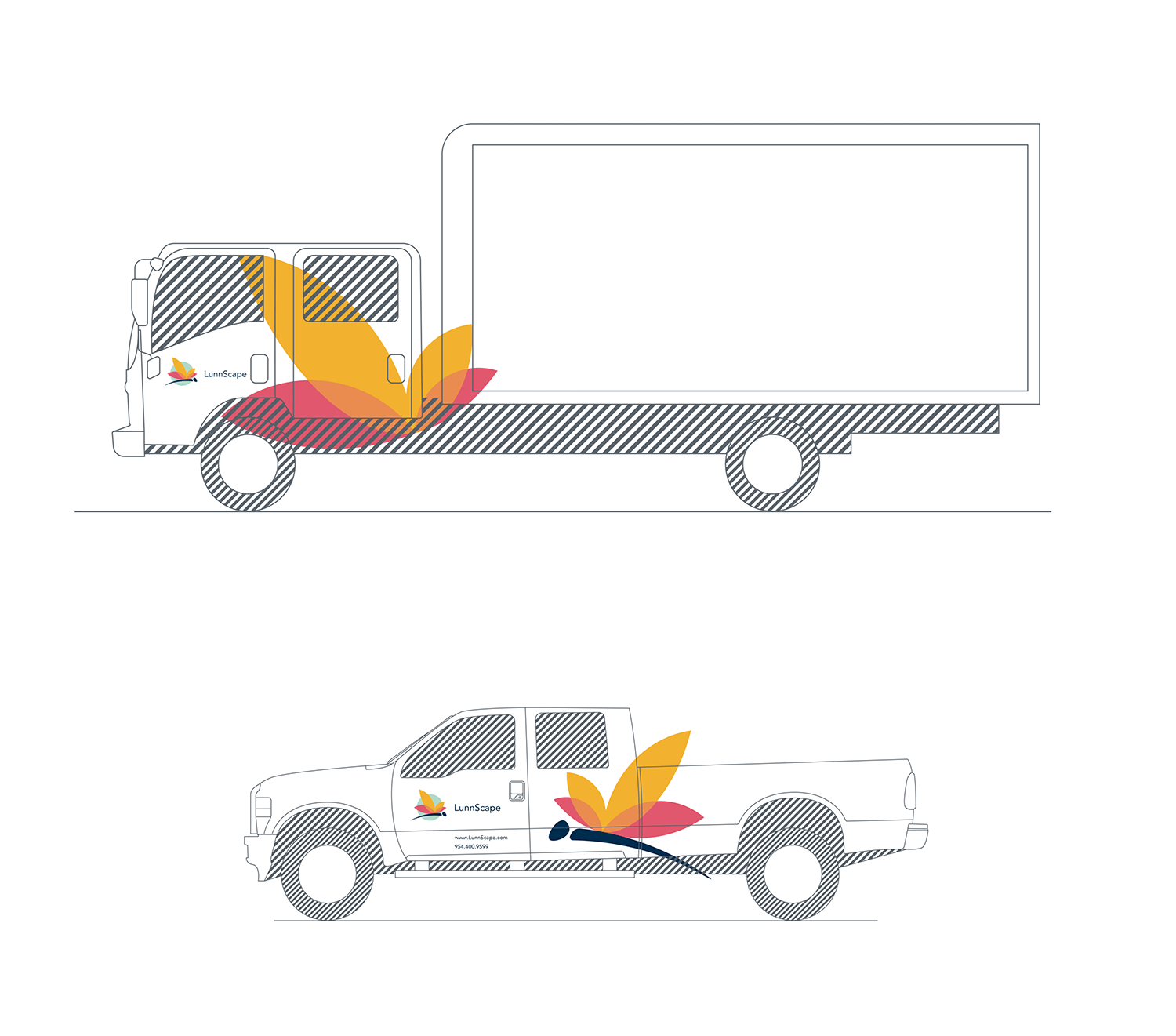 lunnscape vehicle livery_truck