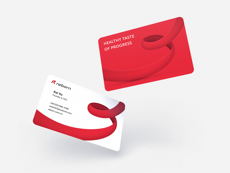 Tubik Reborn case study business cards