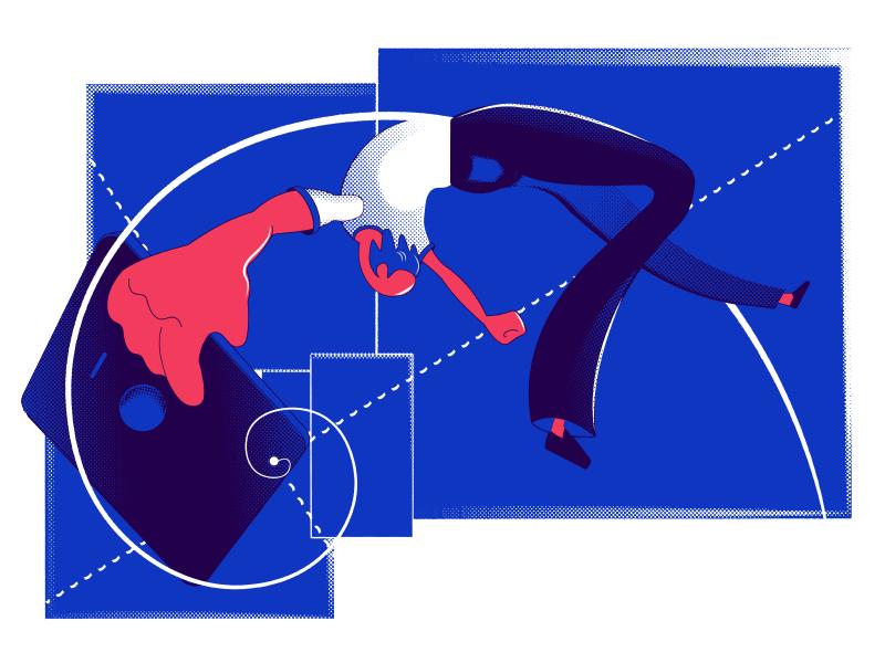 golden ratio ui design illustration tubik