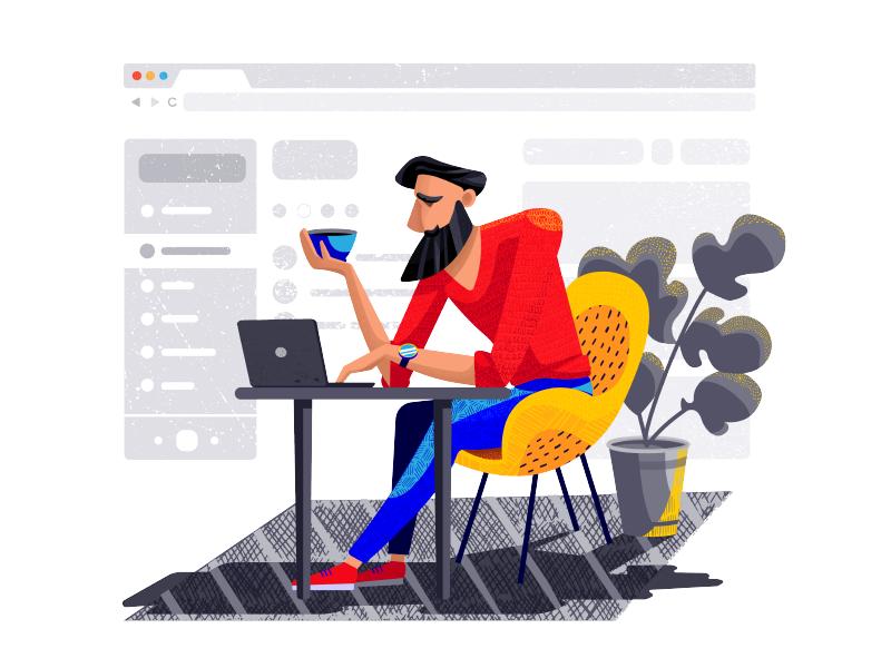 graphic design illustration tubik