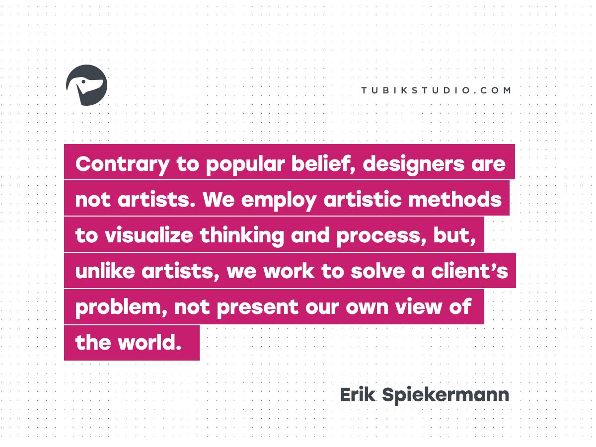 Erik Spiekermann Quotes Design 07