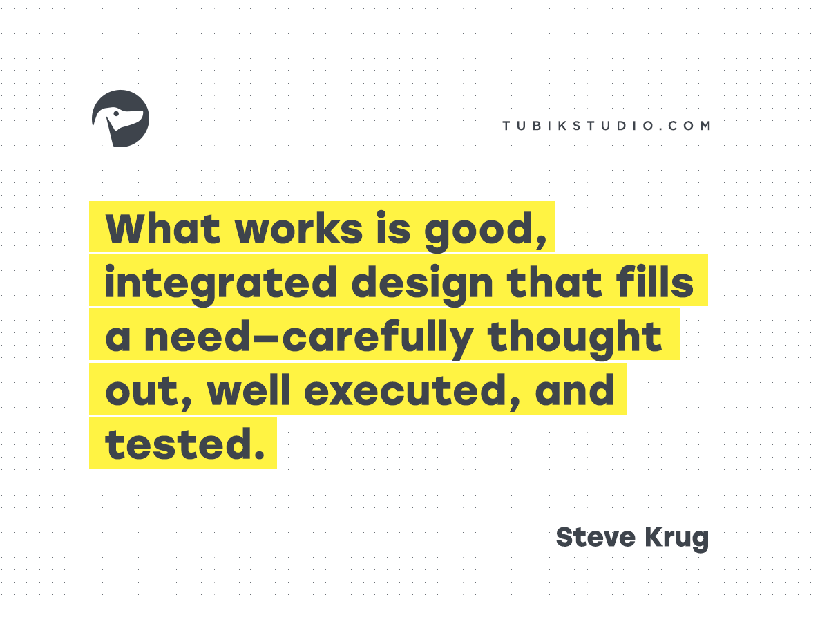 design quotes Steve Krug 07