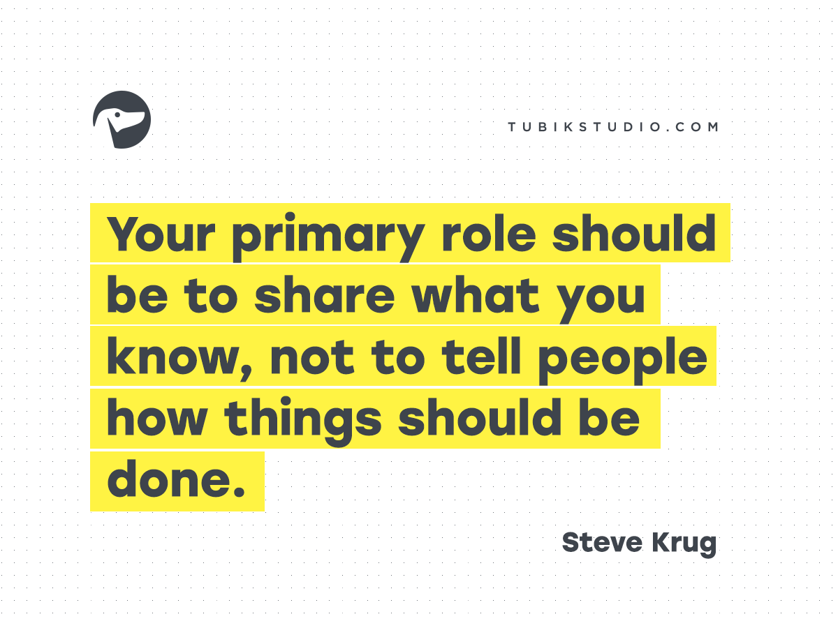 design quotes Steve Krug 08