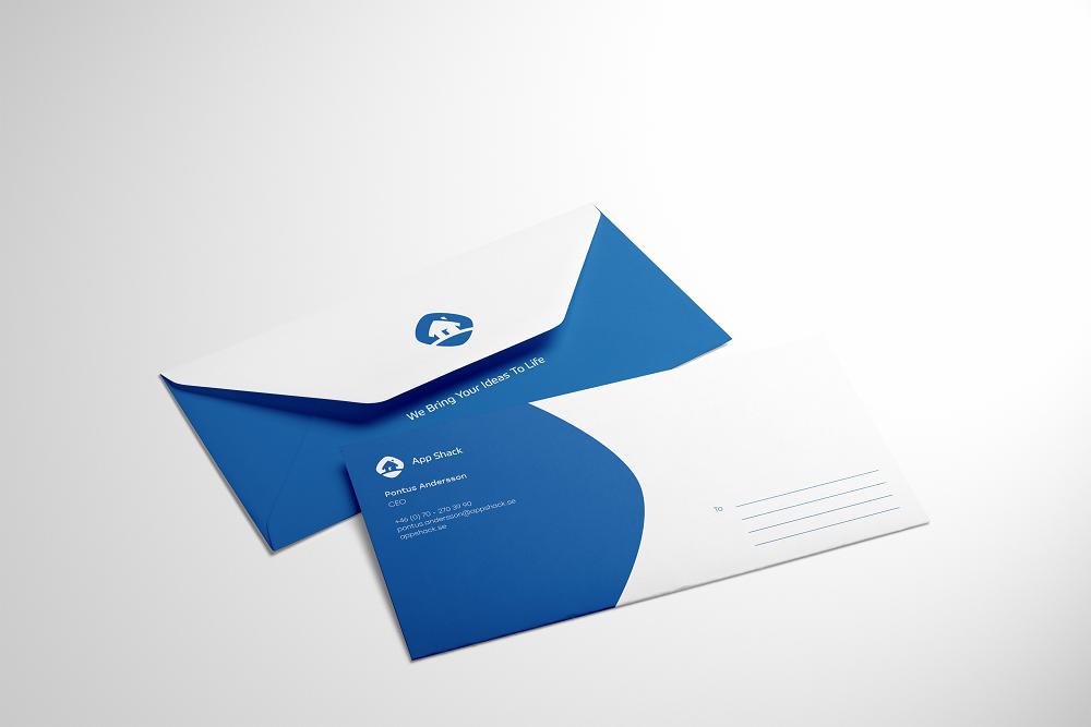 logo design case study tubik envelope