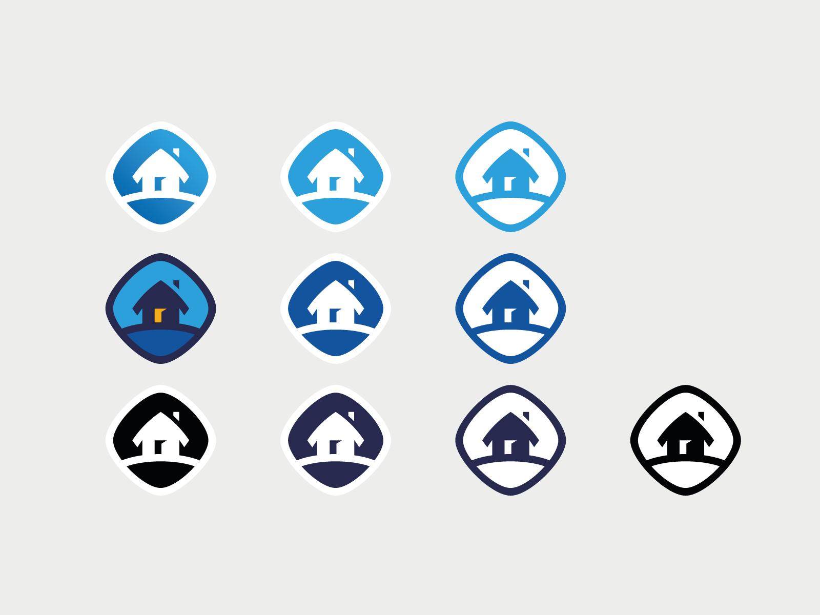 logo design case study tubik_stickers