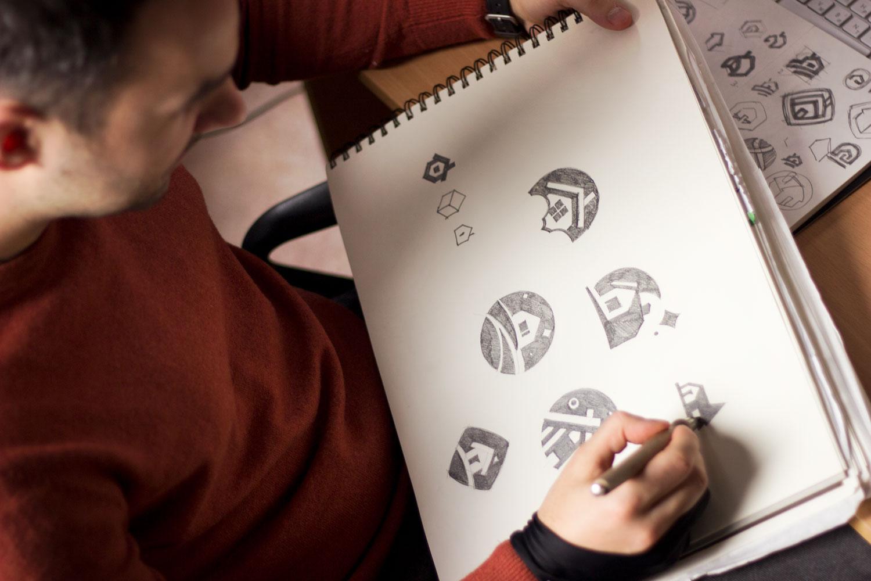 logo design process tubik_studio