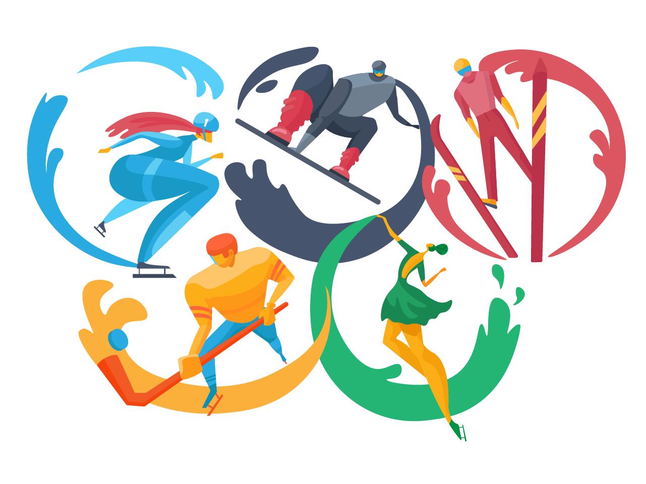 olimpic games illustration 3