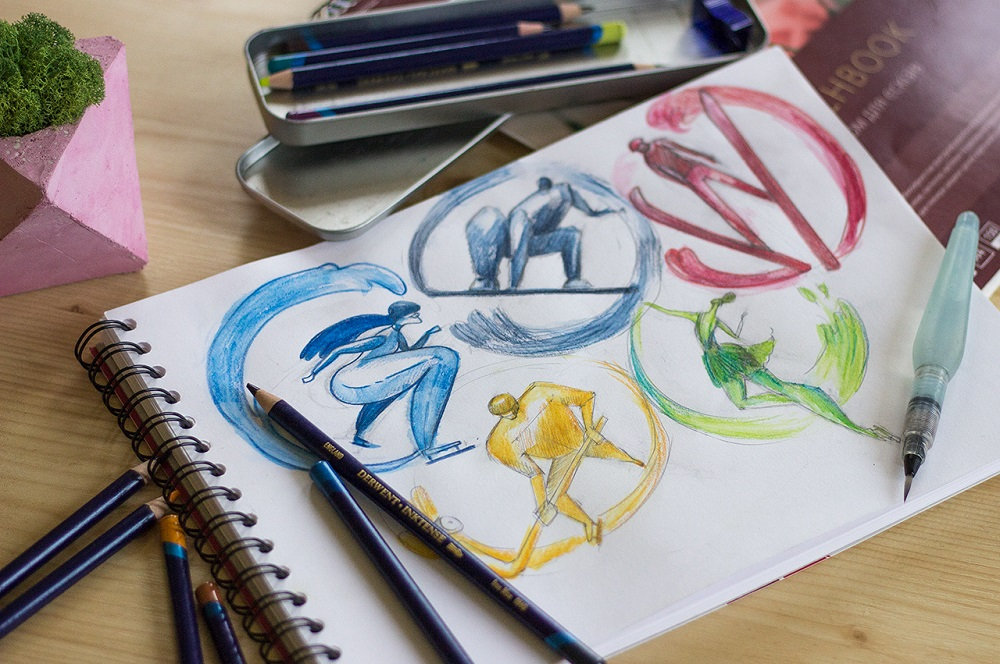 olympic games sketching