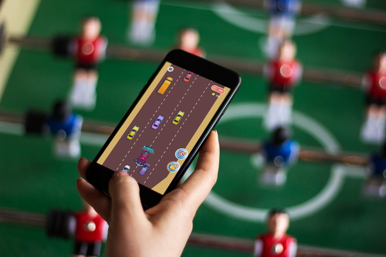 UI design for a mobile game