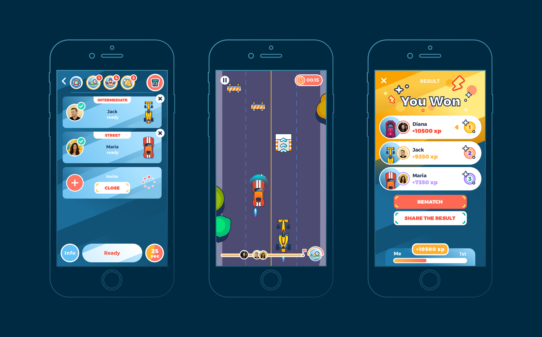 ui design mobile game interactions