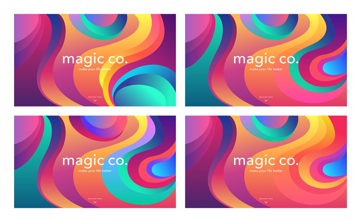 color concepts design UI case study