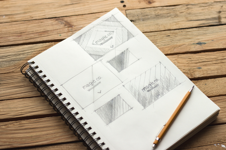 sketching wireframes landing page design