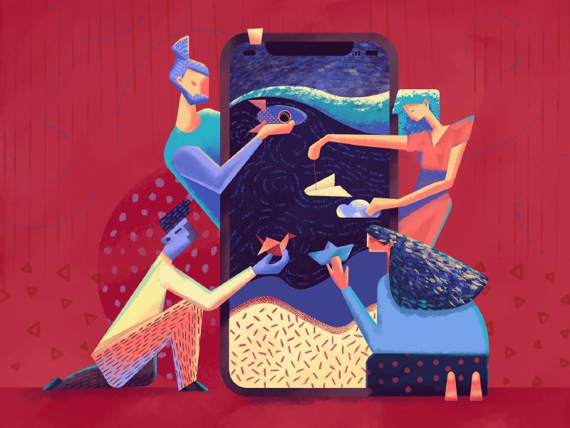 motion in ui graphic design illustration tubik