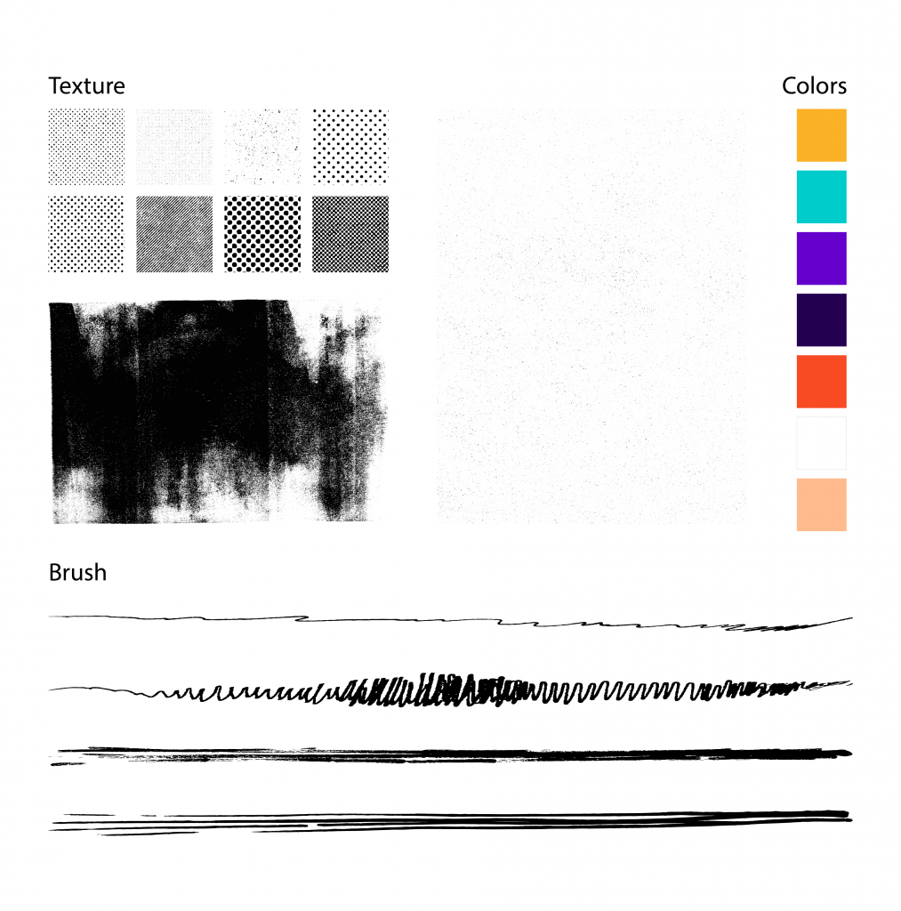 color and texture in graphic design