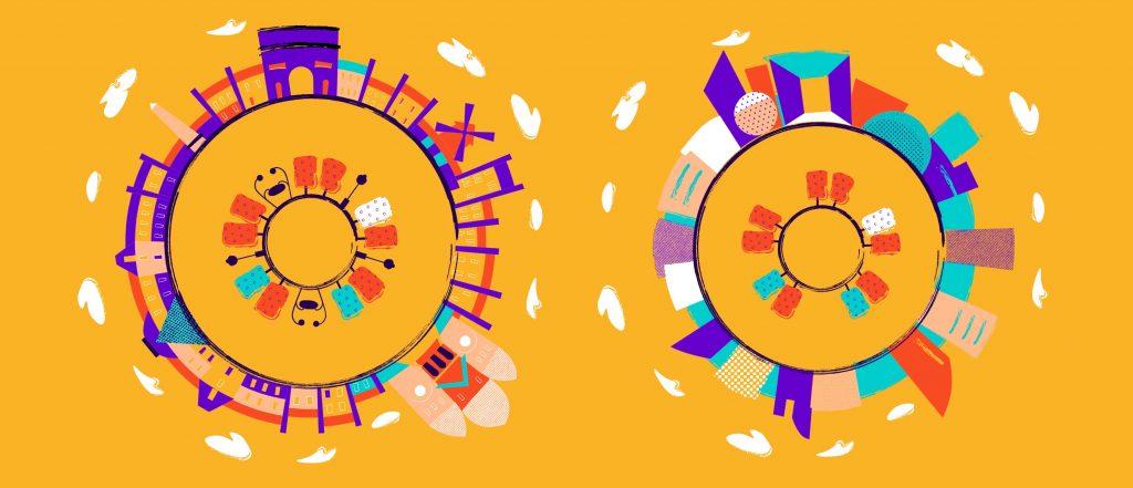 digital illustration design process