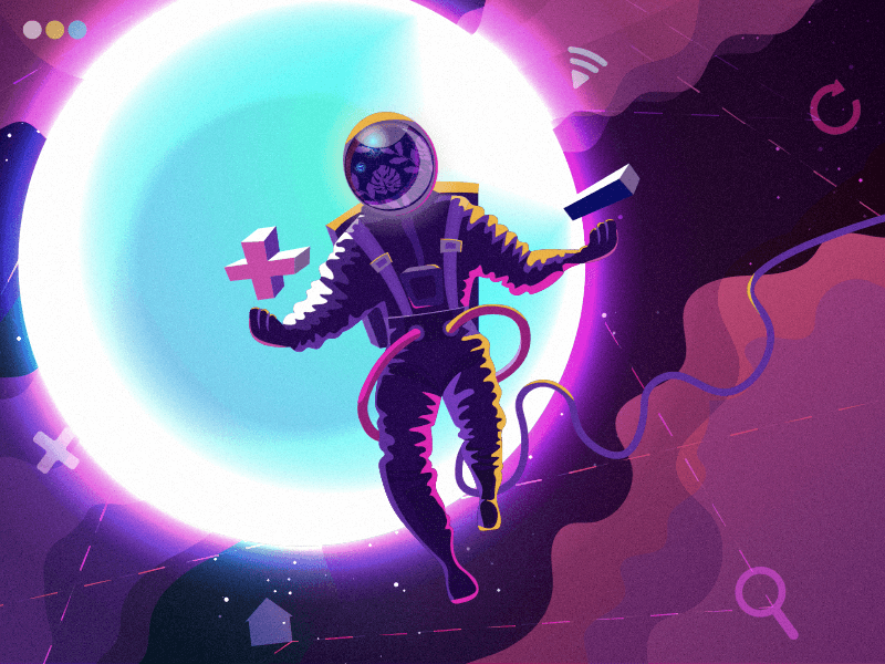 design universe illustration