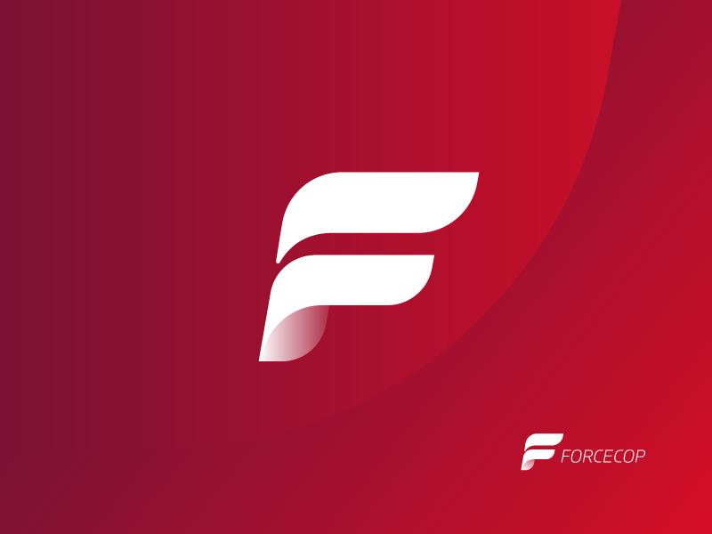 Forcecop logo design tubik