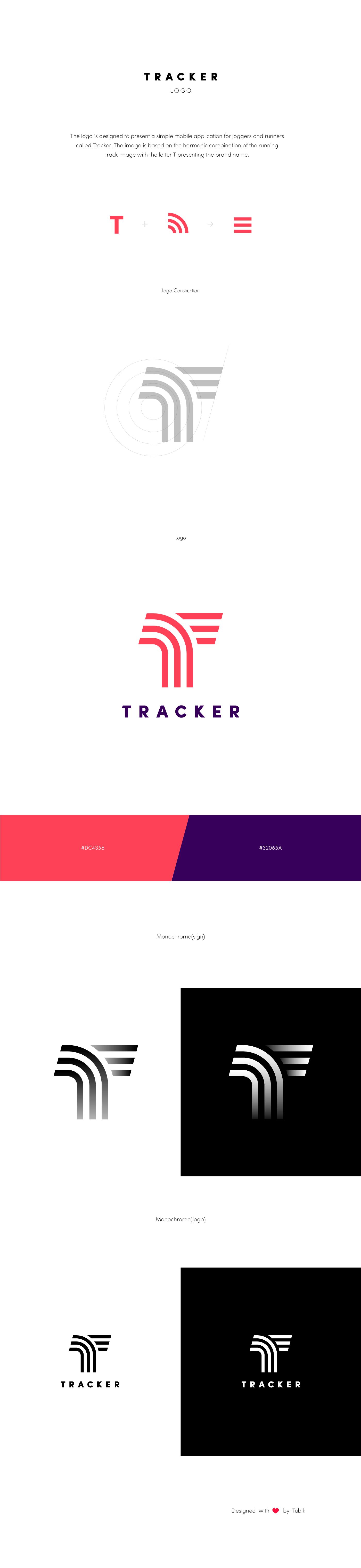 tracker logo presentation tubik