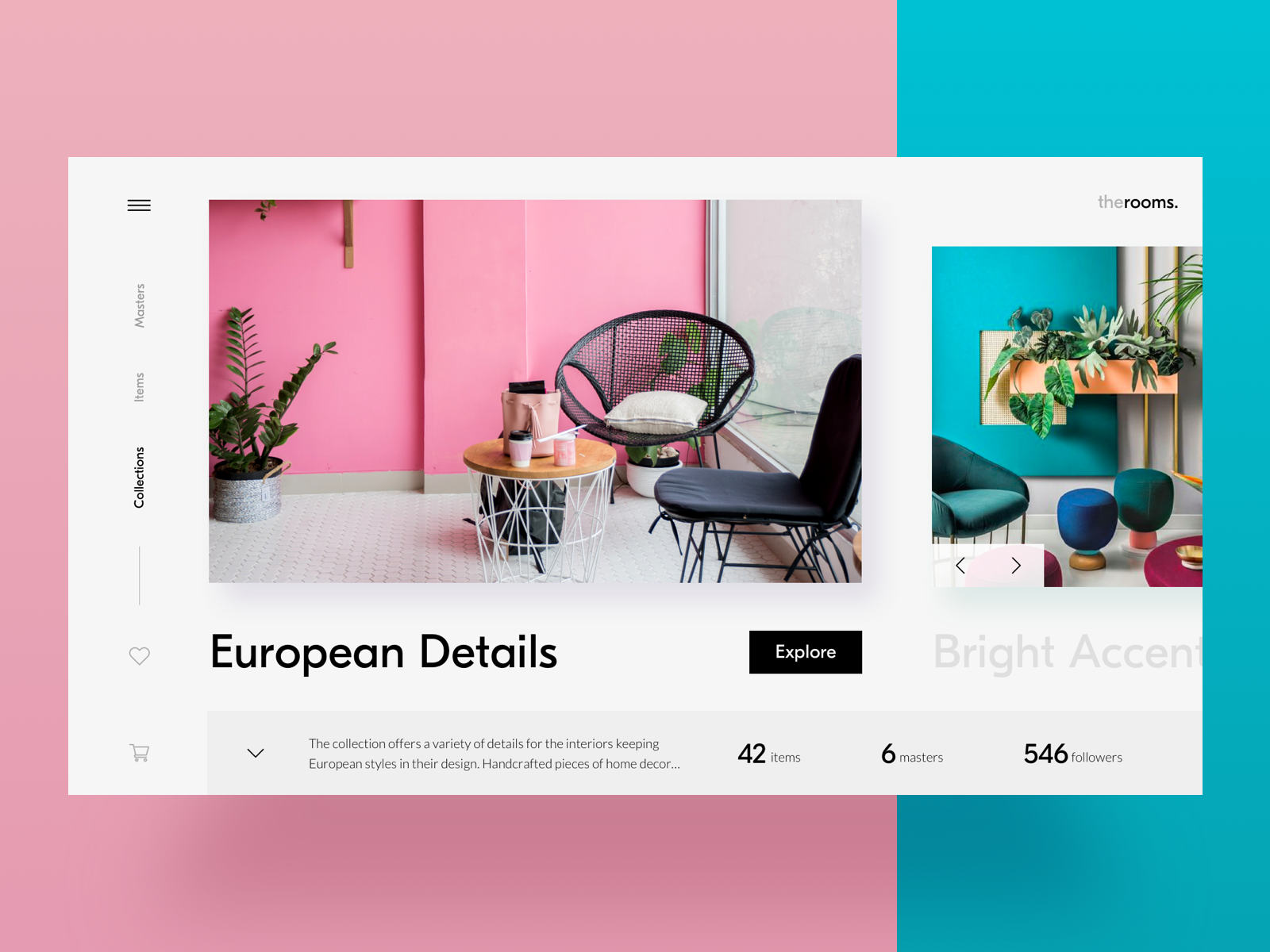 home decor ecommerce website tubik