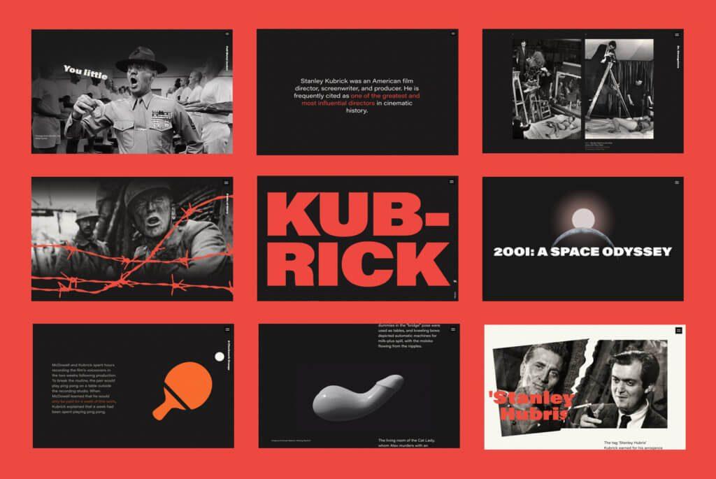 webdesign kubrick life