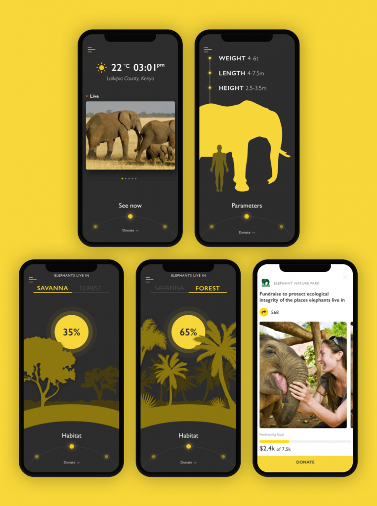 Nature Encyclopedia App Elephant
