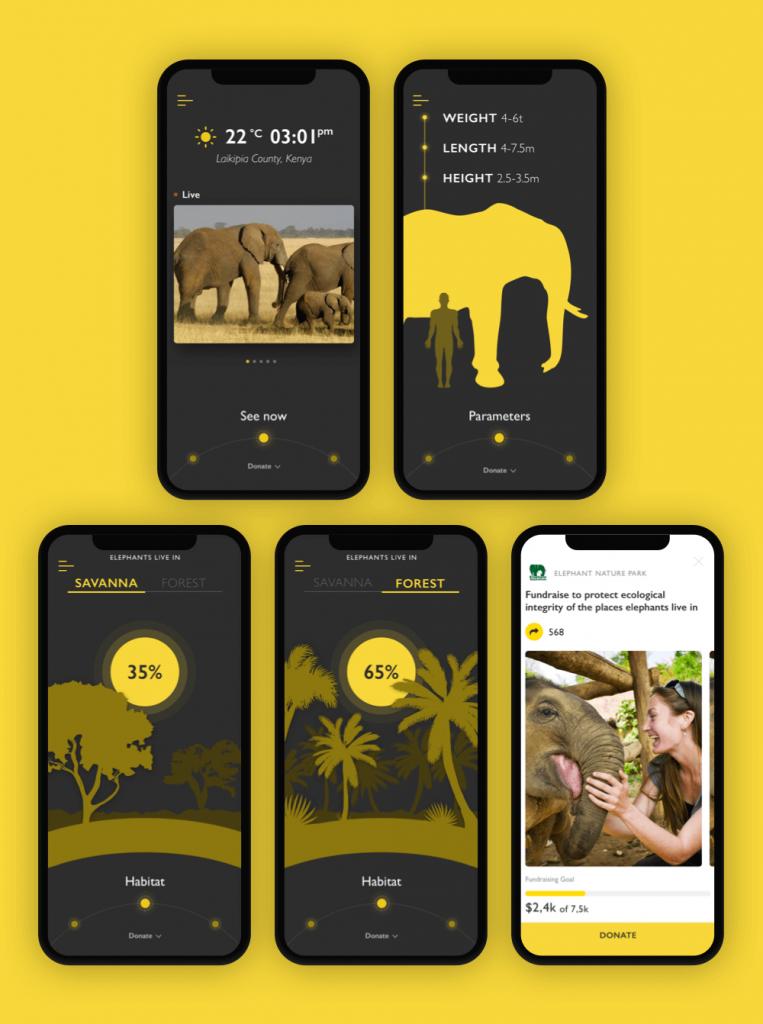 Nature Encyclopedia App Elephant