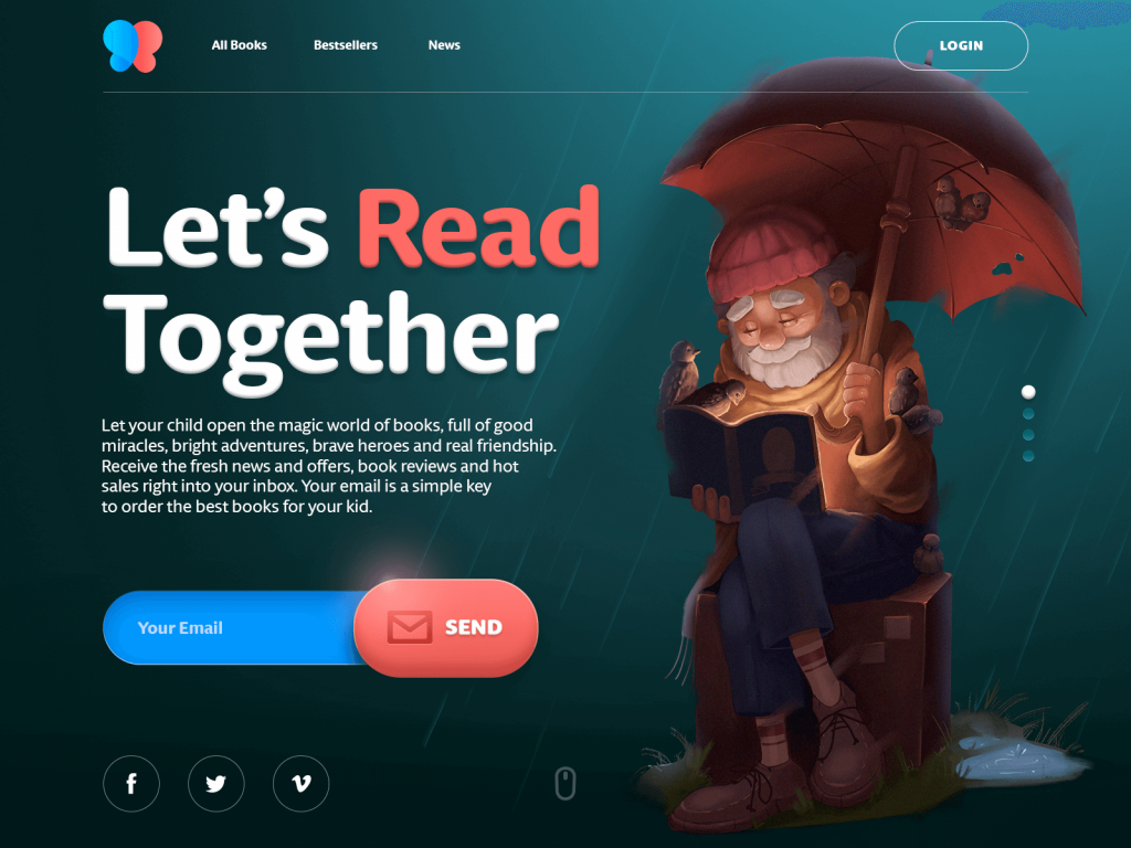 books for children website tubik