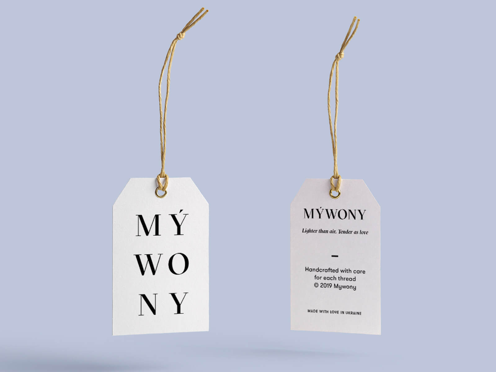 mywony branding design