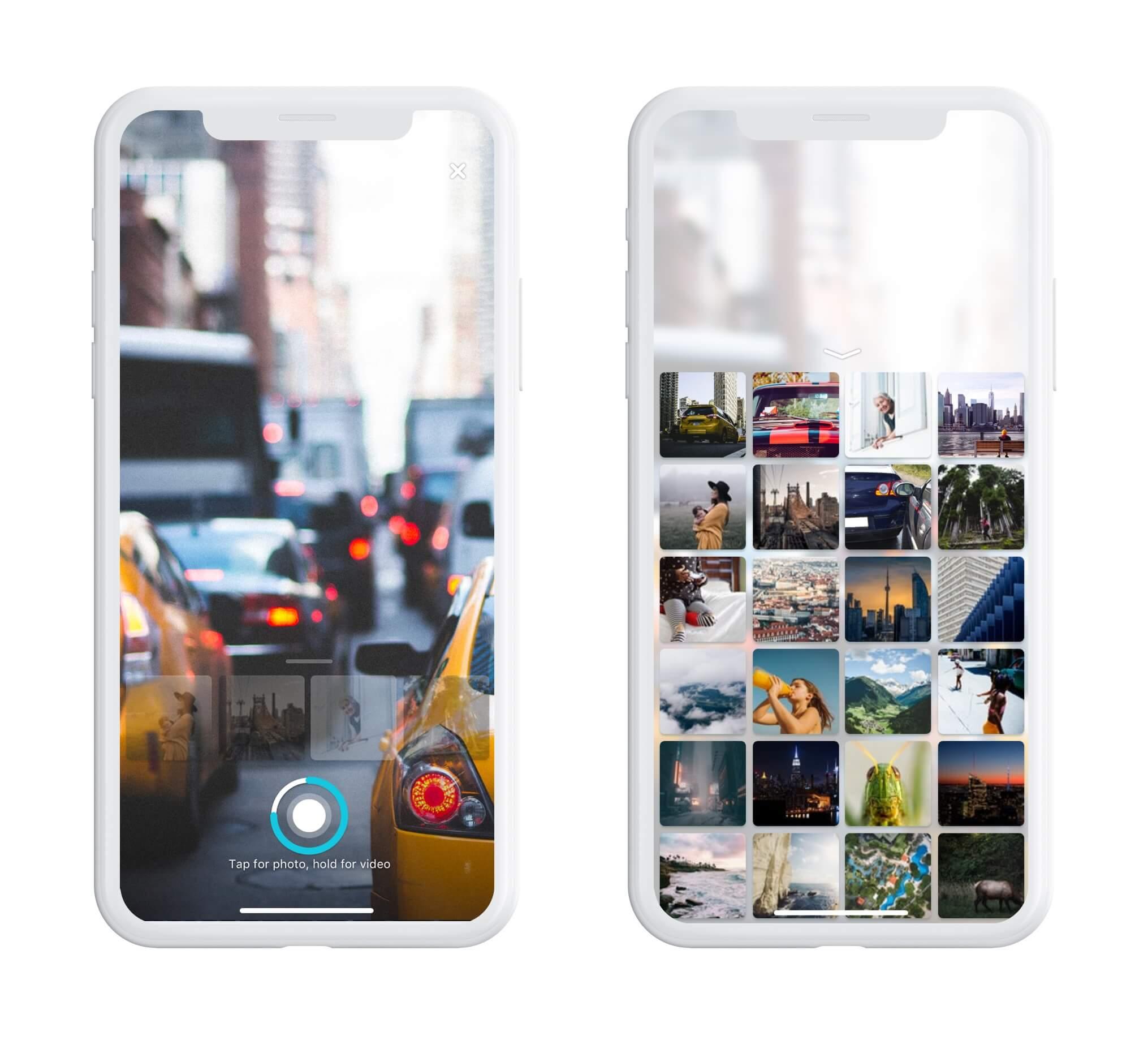 UI design pazi mobile app