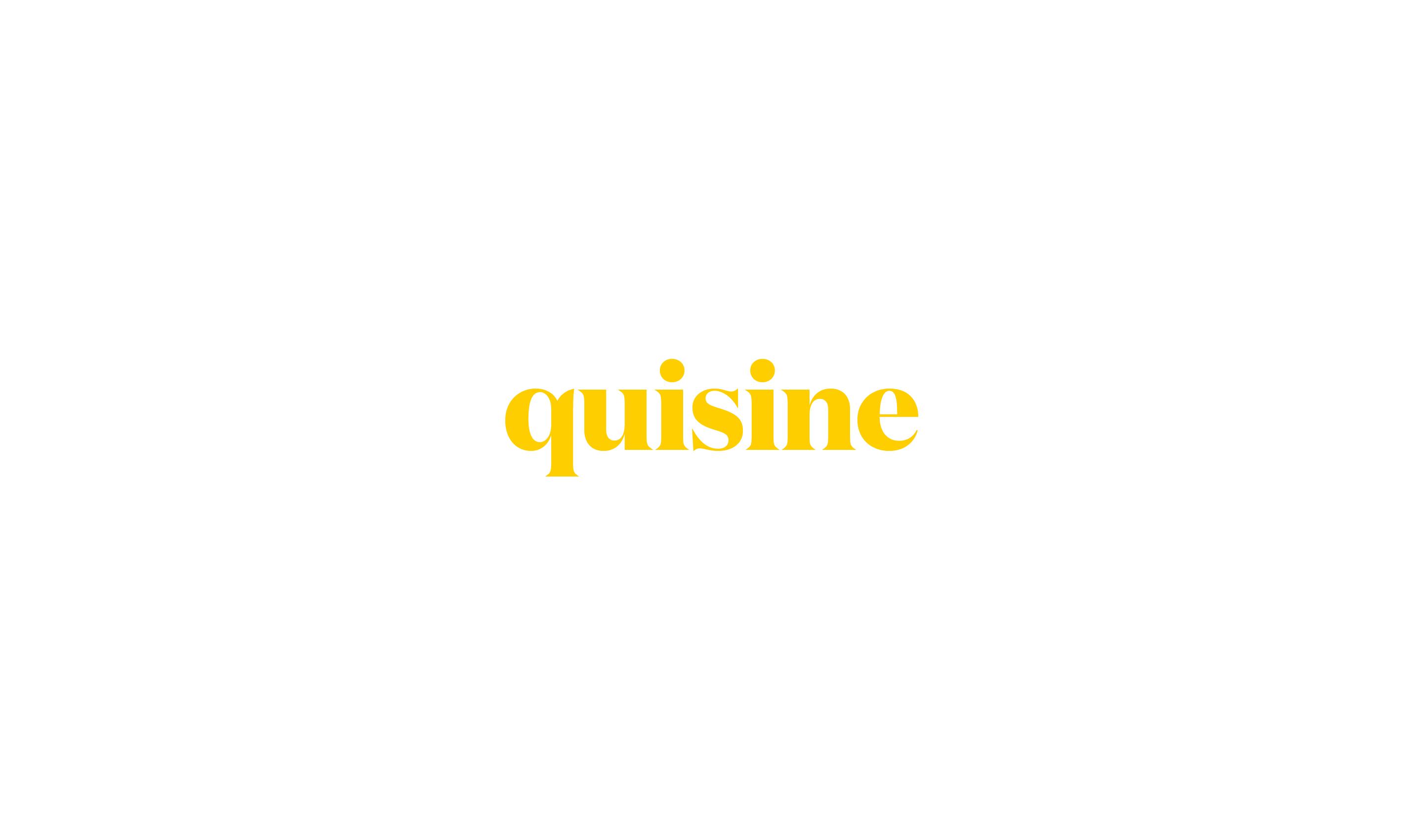 qusine logo design