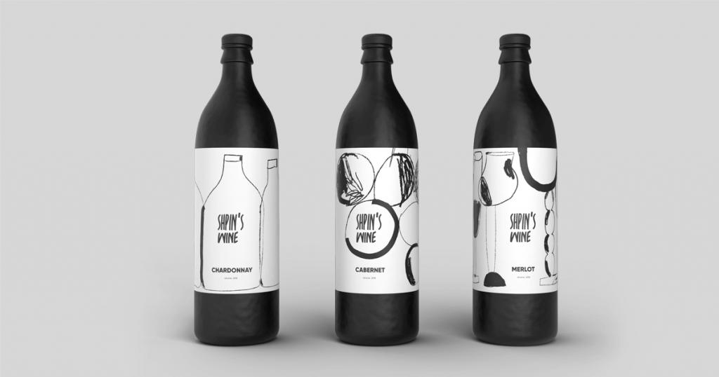 branding desig case study wine-brand