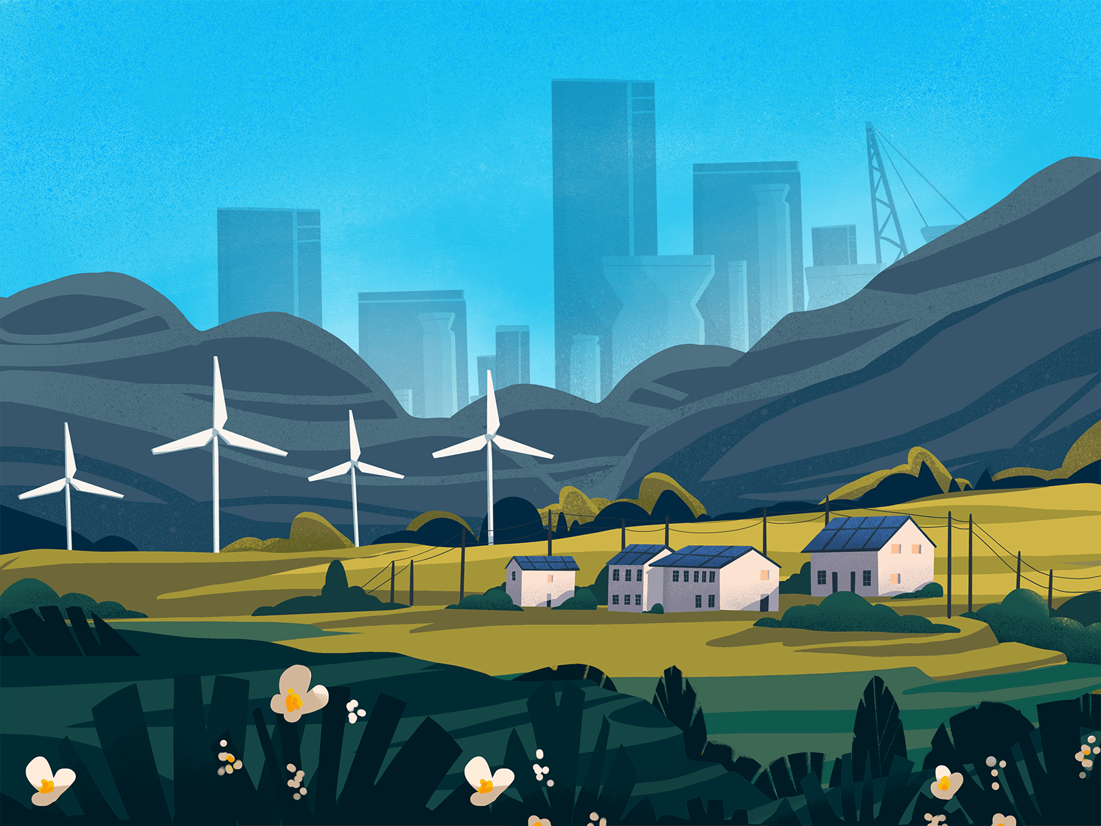 green energy illustration