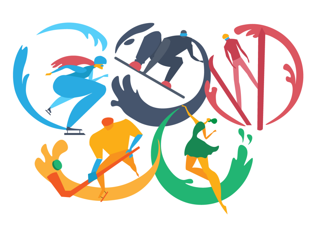 illustration olympic games
